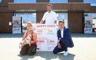 10.000 Tiere an neue Besitzer vermittelt!